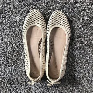 J. Crew ballet flats with bow detailing